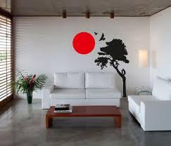 japanese wall art roselawnlutheran wall art sticker decal vinyl japanese oriental tree sunset
