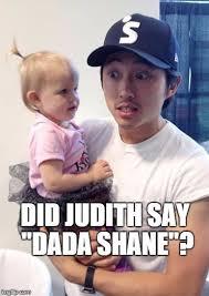 Walking Dead Meme Generator - now we know did judith say dada shane image tagged in glen