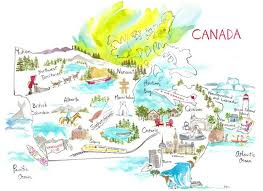 road map canada 26 best canada road trip images on road trips canada