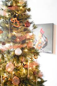 diy copper mesh garland for your tree once again my