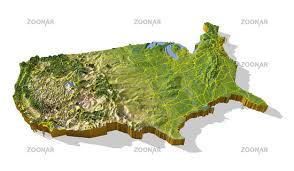 us relief map 3d topographical map of us topographic map