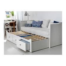 ikea hemnes letto hemnes structure divan avec 3 tiroirs blanc moshult ferme ikea