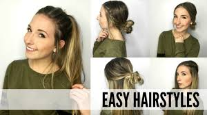 Hairstyles Easy And Quick by Quick And Easy Hairstyles For Inspired