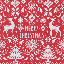 scandi charity christmas cards pack of 8
