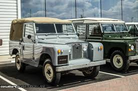 convertible land rover vintage jaguar land rover classic works simply incredible carwitter
