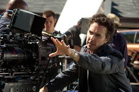 shawn levy on the set of real steel 2010 dreamworks