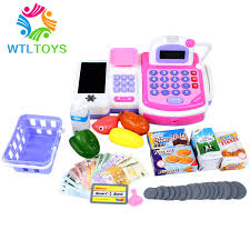 Supermarket Cash Desk Buy Joy Multifunctional Supermarket Cash Register Desk Toy Child