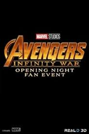opening night fan event star wars the last jedi opening night fan event avengers infinity war in reald 3d san