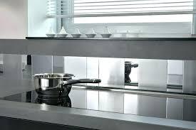 credence pour cuisine plaque credence cuisine inox autocollant plaque alu pour credence
