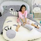 Giant Totoro Bed Natsume Yuujinchou Kawaii Cat Filled Lazy Bed Carpet Mattress