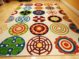 Amazoncom Kids Rug Playroom Rugs X Contemporary White Yellow - Kids room area rugs