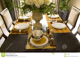 dining table arrangements dining table decor 1707 royalty free stock photos image 3215868