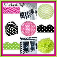 kitchen collection coupon lime green pink classroom decor themes by schoolgirl style