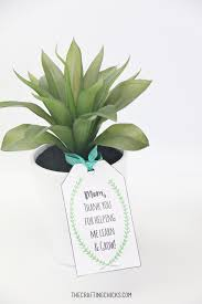 mothers day plants s day plant printable gift tags the crafting