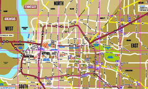 Nashville Tn Zip Code Map by Memphis On A Map Memphis On The Map Tennessee Usa