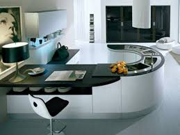Color Kitchen Cabinets Captivating Modular Kitchen Cabinets With Curved Shape Kitchen And