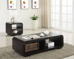 end table set of 2 700794 coffee table end table 2pc set in cappuccino by coaster