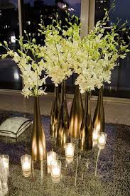 gold centerpieces 28 wine bottle centerpieces for every occasion shelterness