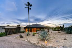 one of a kind mid century modern home hits the market in carefree