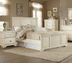 homelegance 1846k 1ck laurinda cottage antique white cal king bed