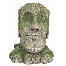 easter island fish tank ornament small on sale free uk