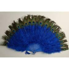 peacock fan fan w peacock
