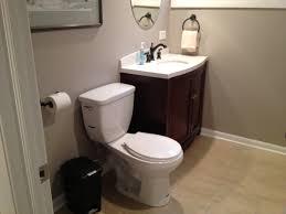 basement bathroom remodel reveal we heart mom
