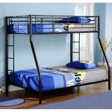 Twin Over Double Bunk Bed Black Walmart Canada - Double bunk beds