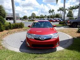 2013 used toyota camry hybrid 4dr sedan xle at royal palm toyota