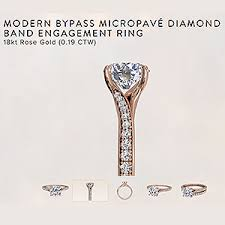 ritani reviews ritani reviews modern bypass diamond engagement ring 18kt