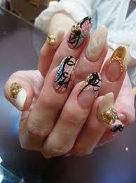 japanese nail art nails10 rounge sgc nail salon tokyo review gel
