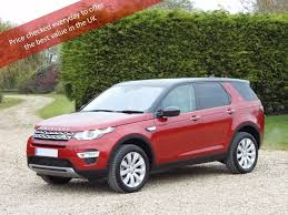 land rover maroon used land rover discovery sport suv 2 0 si4 hse dynamic lux suv