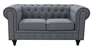Amazoncom US Pride Furniture SL Linen Fabric Chesterfield - Fabric chesterfield sofas