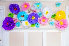 do it yourself oversized paper mache flowers video hallmark
