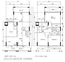executive two storey house plans adhome