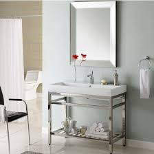 bathroom vanities stainless steel south beach 40 u0027 u0027 vanity