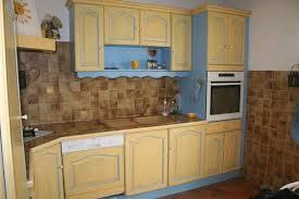 exemple de cuisine repeinte cuisine repeinte en bleu idées décoration intérieure farik us