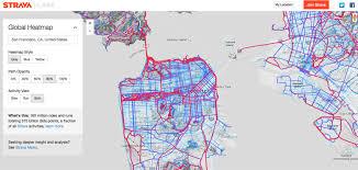 san francisco map my run creating a global heat map from 41 5 million runs gis lounge