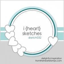i heart card sketches no 32