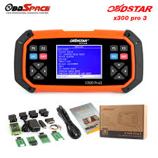 obdstar x300 pro3 auto key programmer with immobiliser odometer
