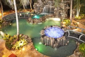 landscape lighting south florida rock work hardscape portfolio of aaa custom pools inc south