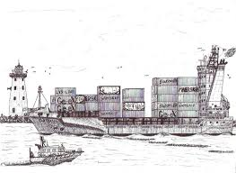 ship photos of the day incredibly detailed sketches of ships