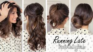 quick and easy hairstyles quick easy hairstyles medium length