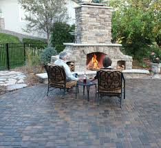 gas fire pit ring exterior pave patio with gas fire pit pave patio with gas fire