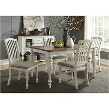 334 t4078 liberty furniture rectangular leg table