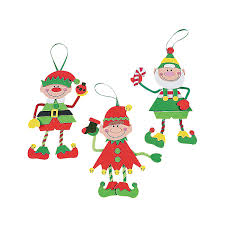 make an elf christmas craft kit use their pictures for elf faces
