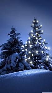 snow christmas tree winter iphone 6 wallpaper winter