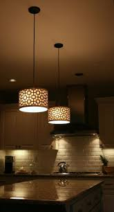 kitchen led under cabinet lighting island pendant lights modern