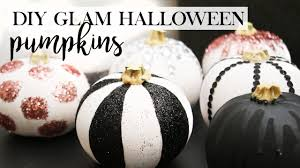 Diy Halloween Ornaments 7 Diy Glam Halloween Pumpkin Decor Designs Diy Halloween Decor