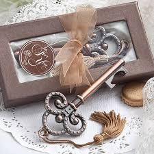 wedding favors bottle opener vintage wedding favors skeleton key bottle openers